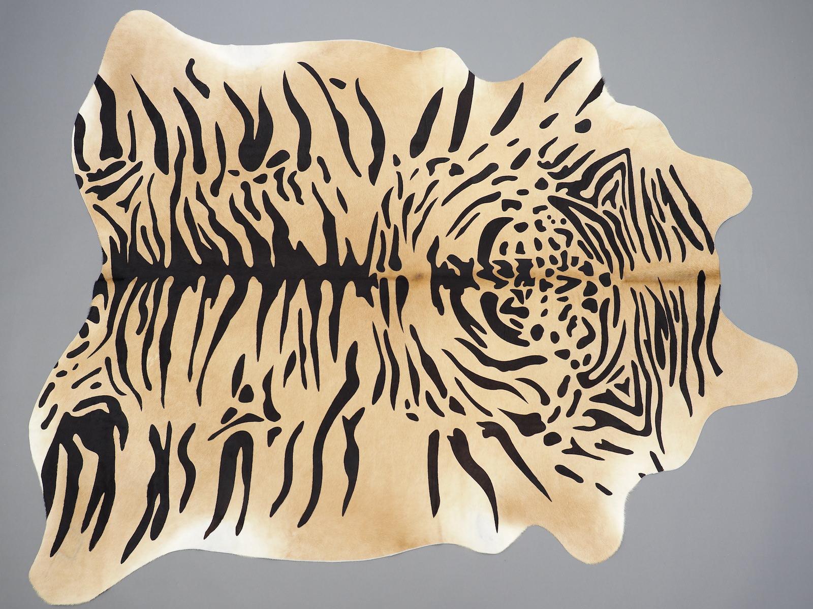 Декоративный ковёр-шкура тигра 25388